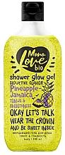 Perfumería y cosmética Gel de ducha con extracto de piña - MonoLove Bio Pineapple-Jamaica Tonus&Smoothness