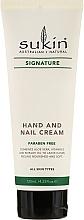 Perfumería y cosmética Crema de manos y uñas con extracto de lavanda - Sukin Hand & Nail Cream