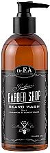 Perfumería y cosmética Champú acondicionador para barba 2en1 con aceite de argán - Dr. EA Barber Shop Beard Wash 2 in1 Shamp & Conditioner