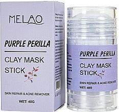 Perfumería y cosmética Mascarilla stick facial antiacné con arcilla, Perilla morada - Melao Purple Perilla Clay Mask Stick
