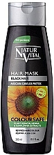 Perfumería y cosmética Mascarilla para cabello teñido negro - Natur Vital Coloursafe Henna Hair Mask Black Hair