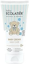 Perfumería y cosmética Crema para bebés con extractos de oliva y camomila - Ecolatier Baby Daily Care