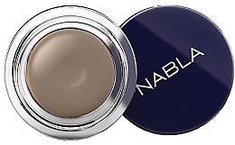 Perfumería y cosmética Crema para cejas altamente pigmentada de larga duración, resistente al agua - Nabla Brow Pot