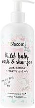 Perfumería y cosmética Emulsión limpiadora para rastro y cabello con aceite de almendras y extracto camomila sin parabenos - Nacomi Baby Emulsia