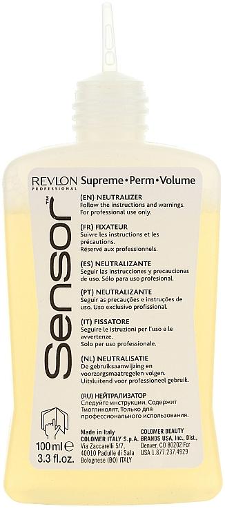 Tratamiento rizada permanente con proteínas de uso profesional - Revlon Professional Sensor Perm-Supreme — imagen N2