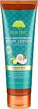 Perfumería y cosmética Loción corporal con coco & lima - Tree Hut Shea Moisturizing Body Lotion Coconut Lime