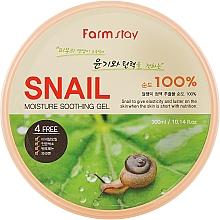 Perfumería y cosmética Gel hidratante y calmante con baba de caracol - FarmStay Moisture Soothing Gel Snail