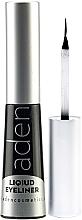 Perfumería y cosmética Delineador líquido de ojos resistente al agua - Aden Cosmetics Liquid Eyeliner