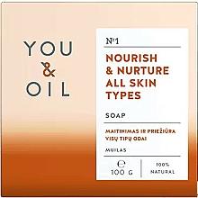 Perfumería y cosmética Jabón corporal natural y nutritivo con aceite de caléndula - You & Oil Nourish & Nurture All Skin Types