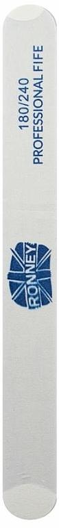 Lima de uñas, 180/240 blanca - Ronney Professional