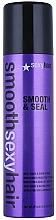 Perfumería y cosmética Spray capilar para brillo y antiencrespamiento - SexyHair SmoothSexyHair Smooth and Seal Anti-Frizz and Shine Spray