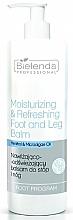 Perfumería y cosmética Bálsamo regenerador de pies y piernas con urea y proteínas lácticas - Bielenda Professional Foot Program