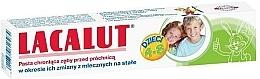"""Perfumería y cosmética Pasta dental con aminofluoruro """"Kids"""" - Lacalut"""