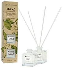 Perfumería y cosmética Set ambientadores Mikado con aroma a jazmín (2uds. x 50ml) - Flor De Mayo Mika 2 Botanical Essence