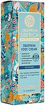 Perfumería y cosmética Crema profesional para pies con aceite de espino amarillo orgánico - Natura Siberica
