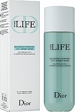 Perfumería y cosmética Agua fresca facial 2en1 con agua de jazmín, malva y prebiótico - Dior Hydra Life Balancing Hydration 2-in-1 Sorbet Water