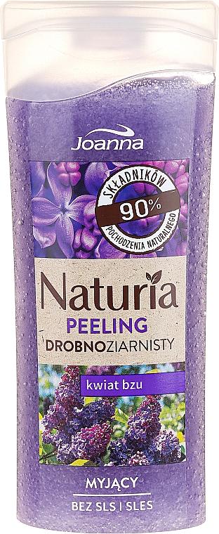 Gel de ducha exfoliante natural con extracto de lila - Joanna Naturia Peeling