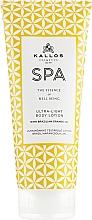 Perfumería y cosmética Loción corporal con aceite de naranja de Brasil - Kallos Cosmetics Spa Ultra Light Body Lotion