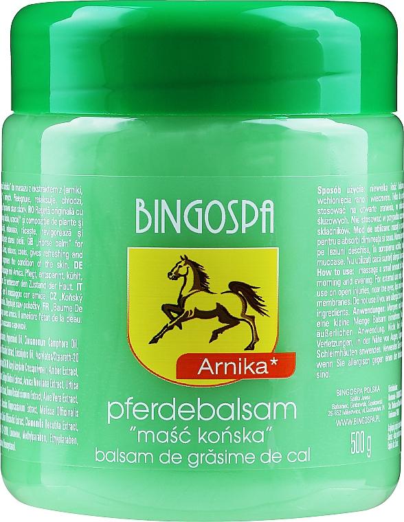 Bálsamo de caballo con extractos de árnica, ortiga y ginkgo biloba - BingoSpa Horse Ointment With Arnica