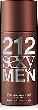 Perfumería y cosmética Carolina Herrera 212 Sexy Men - Desodorante spray