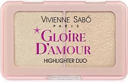 Perfumería y cosmética Iluminador facial duo - Vivienne Sabo Vs Gloire D'Amour