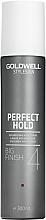 Perfumería y cosmética Spray para volumen fijación fuerte con extracto de bambú & pantenol - Goldwell Style Sign Perfect Hold Big Finish Volumizing Hairspray