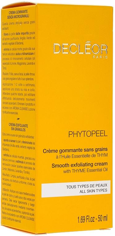 Crema facial exfoliante con aceite de lavanda y limón - Decleor Phytopeel — imagen N2