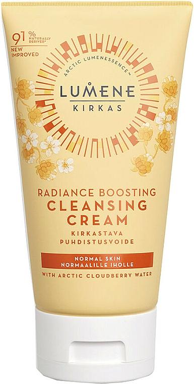 Crema limpiadora con agua de mora de los pantanos - Lumene Radiance Boosting Cleansing Cream