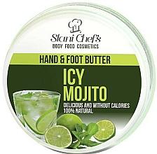 Perfumería y cosmética Manteca para manos y pies con cacao y extracto de menta - Stani Chef's Hand And Foot Butter Icy Mojito