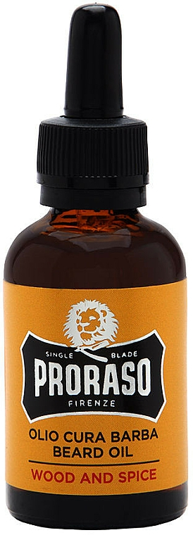 Aceite suave y protector para barba - Proraso Wood and Spice Smooth and Protect Oil