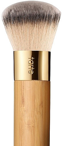 Brocha para base de maquillaje con mango de bambú - Tarte Cosmetics Airbrush Finish Bamboo Foundation Brush