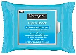 Perfumería y cosmética Toallitas húmedas limpiadoras con ácido hialurónico - Neutrogena Hydro Boost