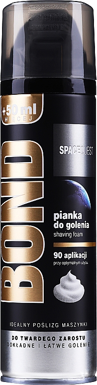 Espuma de afeitar con extracto de hamamelis - Bond Spacequest Shaving Foam