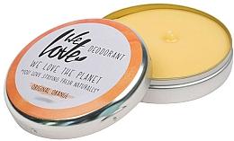 Perfumería y cosmética Desodorante en crema con aceite de mandarina y cera de abeja - We Love The Planet Deodorant Original Orange
