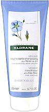 Perfumería y cosmética Acondicionador voluminizador con extracto de lino - Klorane Volume Conditioner With Flax Fiber