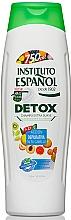 Perfumería y cosmética Champú extra suave con extractos de papaya & pepino - Instituto Español Detox Shampoo