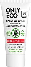 Perfumería y cosmética Gel de manos antibacteriano con glicerina y aloe vera - Only Bio Only Eco Antibacterial Hand Gel