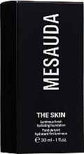 Perfumería y cosmética Base de maquillaje hidratante iluminadora  - Mesauda Milano The Skin Luminous Finish Hydrating Foundation