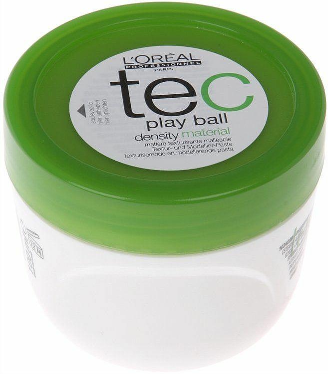 Cera texturizante para moldeado de cabello - L'Oreal Professionnel Play Ball Density Material — imagen N1