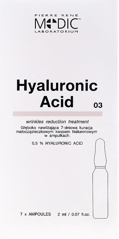 Ampollas faciales con ácido hialurónico - Pierre Rene Medic Laboratorium Vital Serum