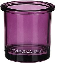 Perfumería y cosmética Portavelas de cristal violeta - Yankee Candle POP Violet Tealight Votive Holder