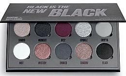 Perfumería y cosmética Paleta de sombras de ojos - Makeup Obsession Black Is The New Black