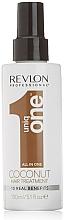 Perfumería y cosmética Tratamiento capilar con aroma a coco, sin aclarado - Revlon Professional Uniq One Coconut Hair Treatment