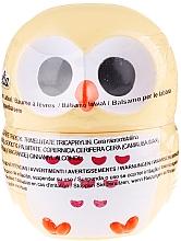 Perfumería y cosmética Bálsamo labial en forma de búho en color amarillo - Martinelia Owl Lip Balm