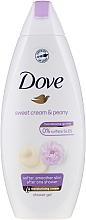 Perfumería y cosmética Gel de ducha con peonía - Dove Purely Pampering Creamy Vanilla And Peony