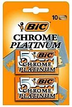 Perfumería y cosmética Hojas de afeitar, 10uds. - Bic Chrome Platinum