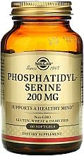 Perfumería y cosmética Complemento alimenticio en cápsulas de fosfatidilserina - Solgar Phosphatidyl Serine