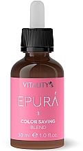 Perfumería y cosmética Concentrado para cabello con ésteres de jojoba y extracto de artemisia - Vitality's Epura Color Saving Blend