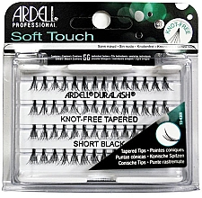 Perfumería y cosmética Pestañas postizas individuales - Ardell Soft Touch Duralash Short Black Tapered Tips