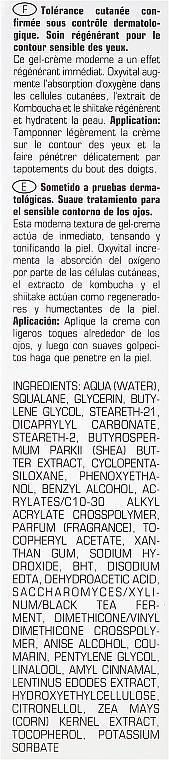 Crema regeneradora para contorno de ojos con manteca de karité y extracto de kombucha - Artdeco Oxyvital Eye Cream — imagen N3